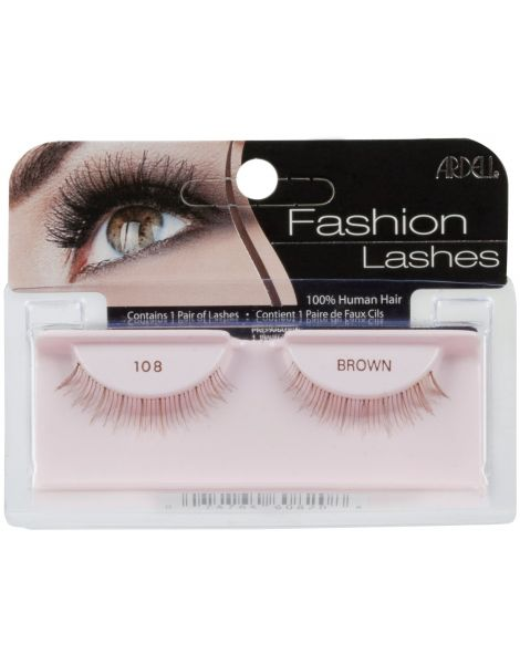 Ardell Gene False Fashion Lashes 108 Brown