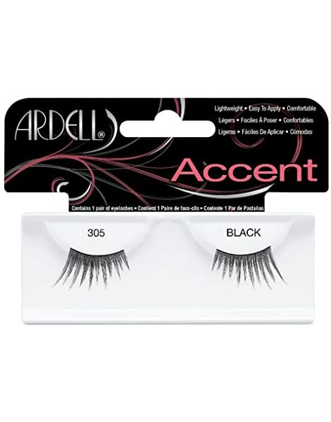 Ardell Gene False Accents Lashes 305 Black