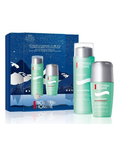 Set Biotherm Aquapower Homme