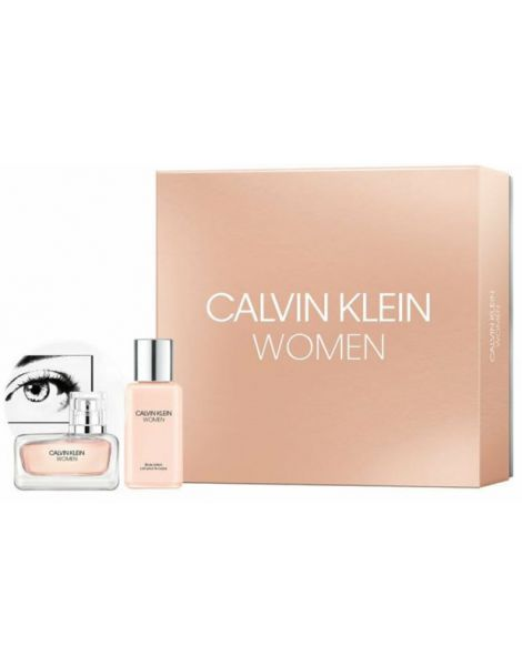 Calvin Klein Women Set (Apa de parfum 30ml + Lotiune Corp 100ml)