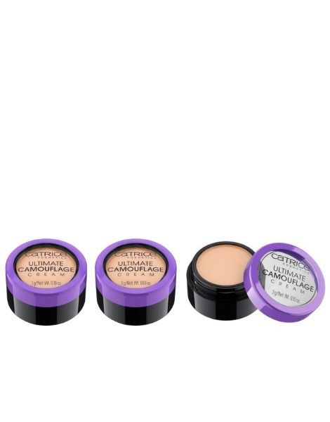 Catrice Pachet 3X Corector Concealer Ultimate Camouflage Cream 010N Ivory 3g