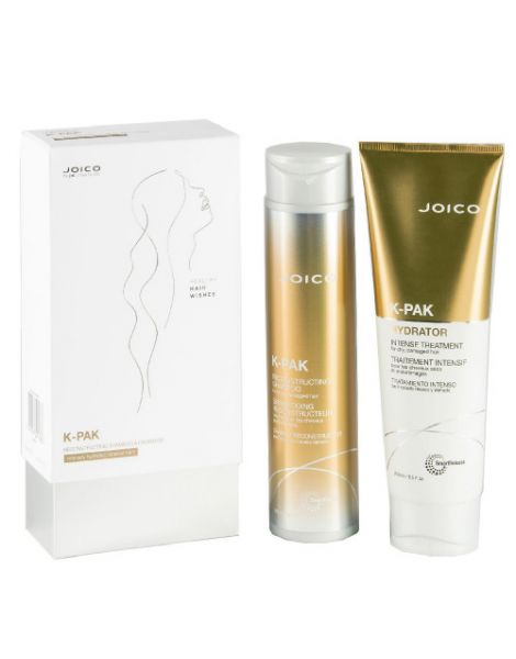 Joico K-Pack Set (Sampon Par Deteriorat 300ml + Tratament 250ml)