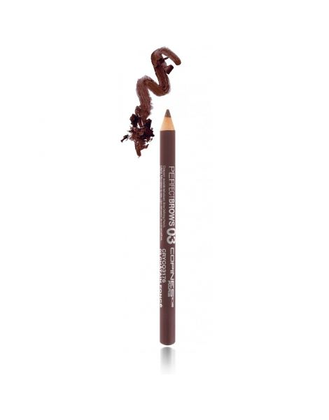 Les Copines Creion Sprancene Perfect Eyebrow Pencil 03 Chatain Fonce