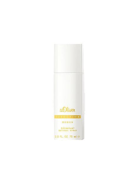 s.Oliver Selection Woman Deodorant Natural Spray 75ml