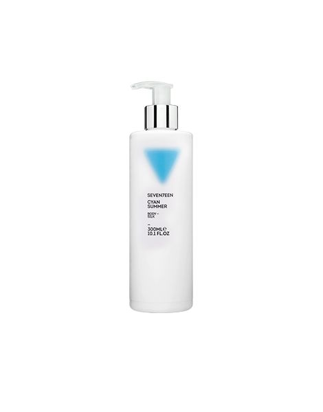 Seventeen Body Silk Cyan SummerLapte Corp 300ml Editie Limitata